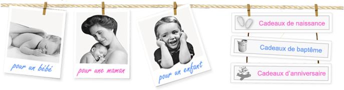 Joli-cadeau.com, cadeau de naissance et idées de cadeau pour bébé