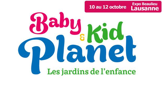 Le salon Baby & Kid Planet de Lausanne se déroulera du 10 au 12 octobre 2014