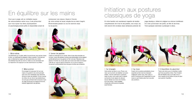 Initiation aux postures du yoga avec bébé