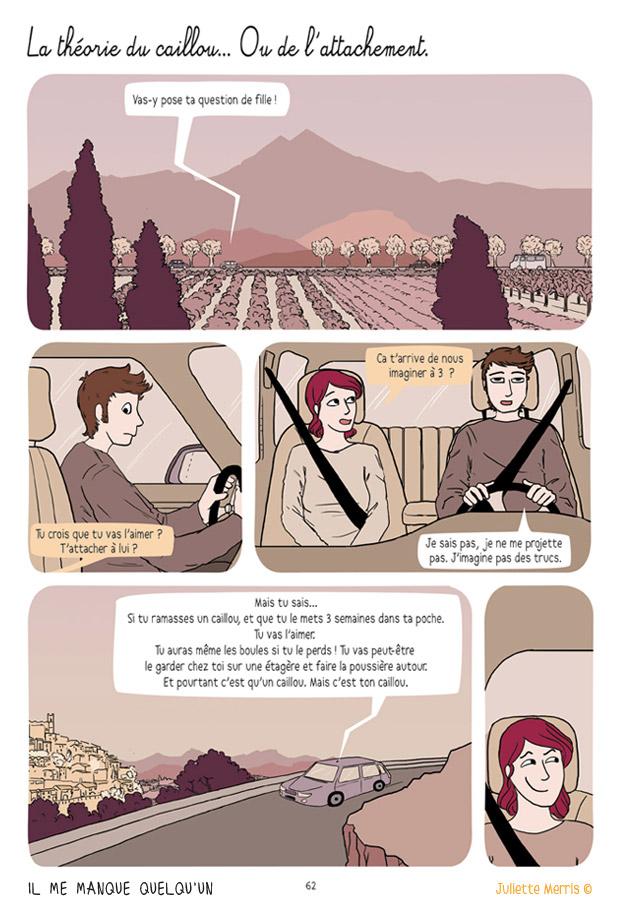La théorie du caillou - Il me manque quelqu'un par Juliette Merris
