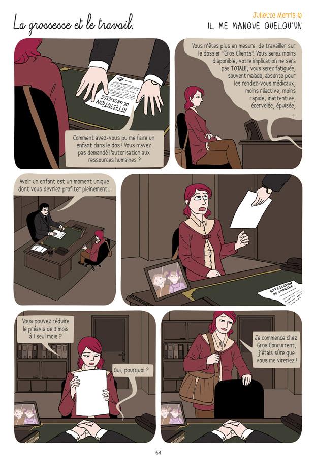 La grossesse et le travail - Il me manque quelqu'un par Juliette Merris