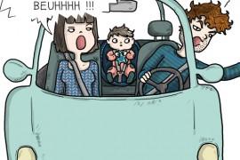 Mon papa dit des gros mots en voiture, que dois-je faire ?