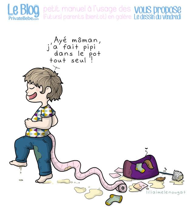 L'apprentissage de la propreté chez l'enfant TOME 2