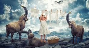 John Wilhelm, un papa créatif photographie ses petites filles