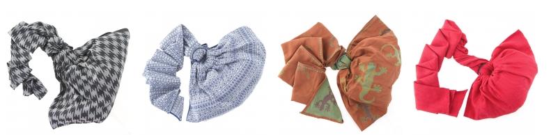 """Un joli choix de sling à découvrir chez """"la maison du porte bebe"""""""