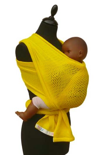 La fil-up, l'écharpe idéale pour porter bébé tout l'été