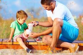 5 indispensables pour la trousse de secours de l'enfant