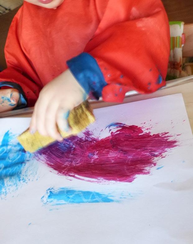 Peinture magique : Etape 3