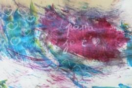 Peinture magique pour amuser votre tout-petit