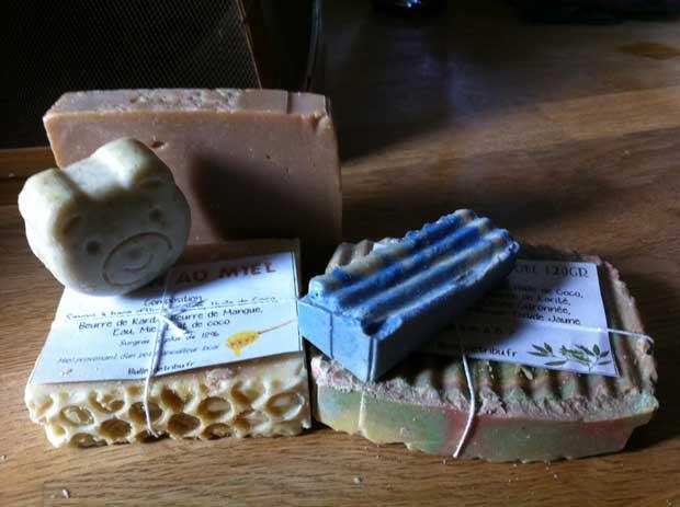 Du savon naturel artisanal pour enfant par Bulles de Tribu