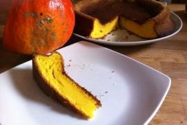 Gâteau moelleux au potimarron et zeste de citron