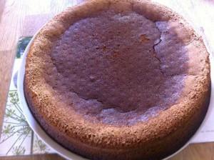 laissez le gâteau refroidir