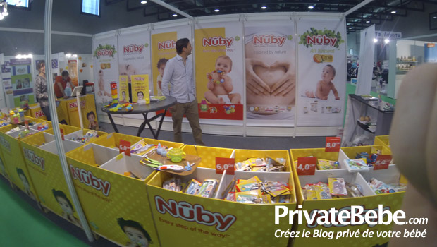 Nuby - Salon Baby Kid Planet : les exposants du salon bébé de Lausanne