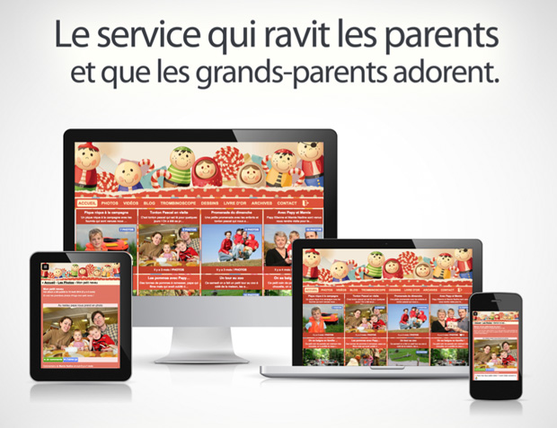 Le service qui ravit les parents et que les grands-parents adorent !