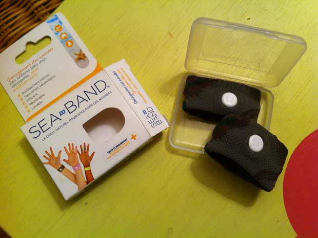 Sea Band, des bracelets contre le mal des transports