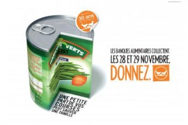Collecte des banques alimentaires : soutien alimentaire