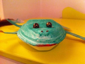 Votre grenouille est prête.