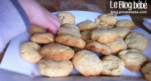 Biscuits amandes et fleur d'oranger rapides à faire