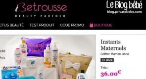 Betrousse.com : Les Instants Maternels