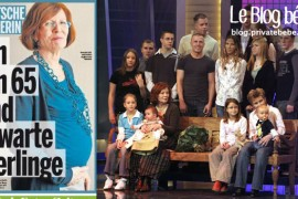 Quadruplés – Une allemande enceinte à 65 ans