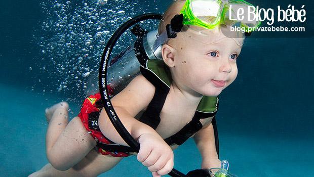 Underwater Babies, photos incroyables de bébés sous l'eau