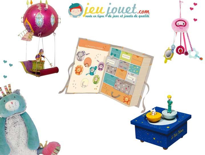 Découvrez une large gamme de cadeaux de naissance et cadeaux pour bébé