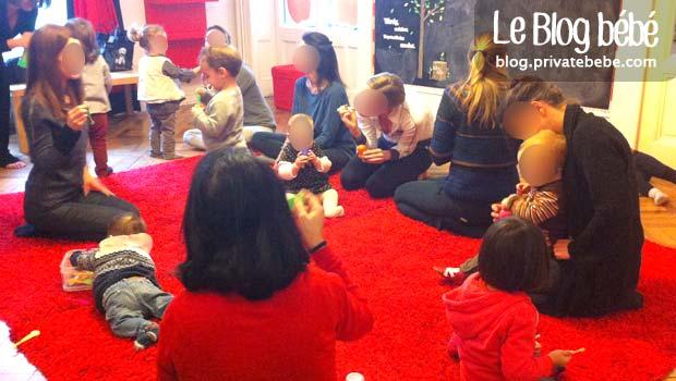 Le kiddie club est un groupe de jeux bilingue pour les préscolaires âgés de 8 mois à 3 ans et demi, dont le principe repose sur des apprentissages par le jeu, en petit groupe, avec les parents, la nounou ou encore les grands-parents.