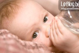 Quelle eau pour maman et bébé : minérale, robinet, source ?