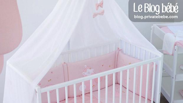 Un ciel de lit sur le berceau ou le lit de son bébé ?