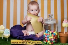 Un photographe recréé les histoires du soir avec des bébés