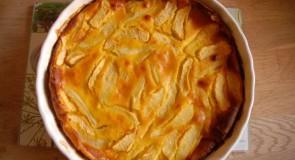 Clafoutis maison pommes poires au miel (DIY)