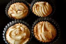 DIY : Tartelettes fines aux pommes miel et amandes
