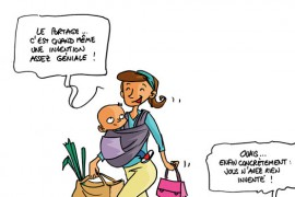 Écharpe de portage – Le portage expliqué aux jeunes mamans