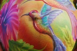 Le Belly Painting pour célébrer votre grossesse en couleurs