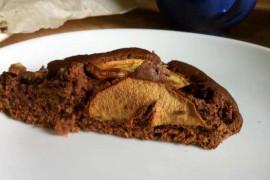 Gâteau pomme-chocolat maison pour le goûter