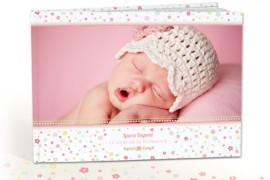 Faire un album photo de la première année de bébé