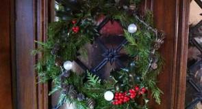 La couronne de Noël à faire soi même – DIY