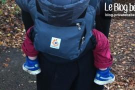 Ergobaby Performance, le porte-bébé idéal pour vadrouiller !
