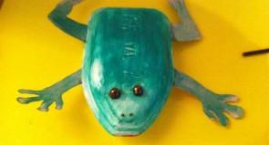 Une petite grenouille en polystyrène – DIY