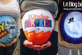 Cet artiste peint sur le ventre de sa femme enceinte